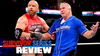 GOING IN RAW REVIEWS WWE SURVIVOR SERIES 2017