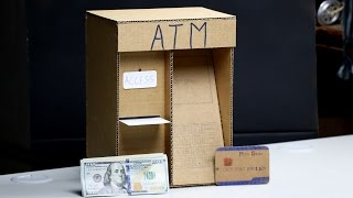 Wow! Amazing ATM Machine DIY for Kids