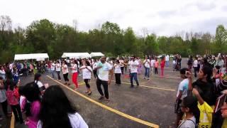 Flash mob on Holi Mela 2017, louisville