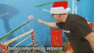 Mythbusters Christmas Rube Goldberg Device