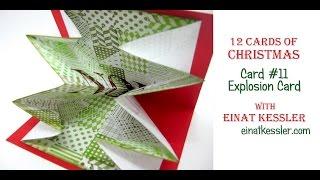 12 Cards of Christmas 2015 - Card #11 Explosion Card