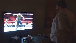 Big Boy Upset Over WWE Royal Rumble 2014!
