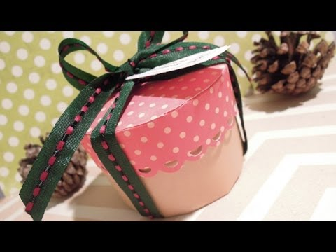 Caja de papel cartulina etc f cil vidoemo emotional - Como hacer una caja ...