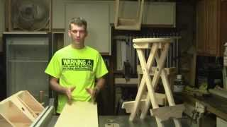 How to make a Folding Stool Part 1