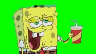 coolface spongebob green screen