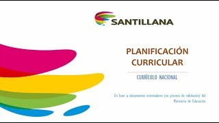 WEBINAR: Proceso de planificación curricular