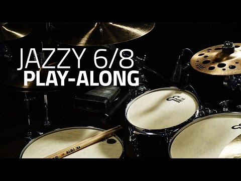 Jazzy 6/8 Play-Along - Drum Lessons (Drumeo)
