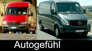 Mercedes Sprinter Evolution of the transporter 20 years 1995 - 2015 _ Autogefühl