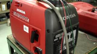 Electric Start EU2000i Built By Pinellas Power Products