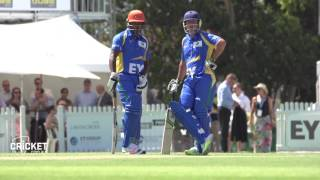 Brian Lara mic'd up batting with Ricky Ponting