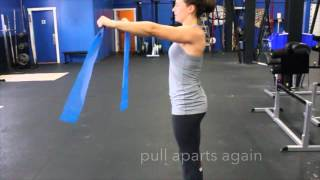 Muscle-up Warm-up Drills