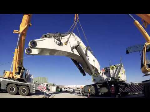 Xxx Mp4 Liebherr R 9400 Timelapse Transport Assembly To Boggabri Mine 3gp Sex
