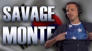 Monte is a Savage for over Seven Minutes (Monte Funny Moments)