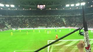 JUVE 1-1 chievo Coro per Antonio Conte...mp4