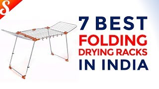 7 Best Folding Drying Racks in India with Price | Monsoon Special
