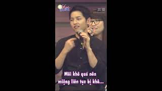 [Vietsub] Song Joong Ki nói về Wine Kiss NG 20 lần