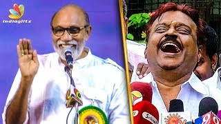 Sathyaraj's Sarcastic Reply to Meme Creators | Captain Vijayakanth