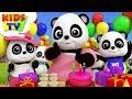 Happy Birthday Song | Baby Bao Panda Cartoons | Kids Songs & Nursery Rhymes