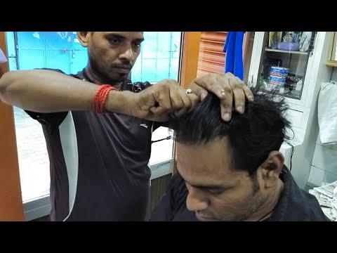 Xxx Mp4 Amazing Hair Cracking Head Massage Must Watch 3gp Sex