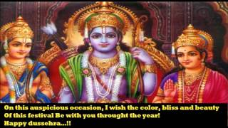 Happy Dasara/Dussehra 2016 wishes, SMS, greetings, Happy Vijayadashmi whatsapp video clip