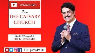 Telugu Service - Live from The Calvary Church Chennai | 16-03-2019 | Dr Jayapaul