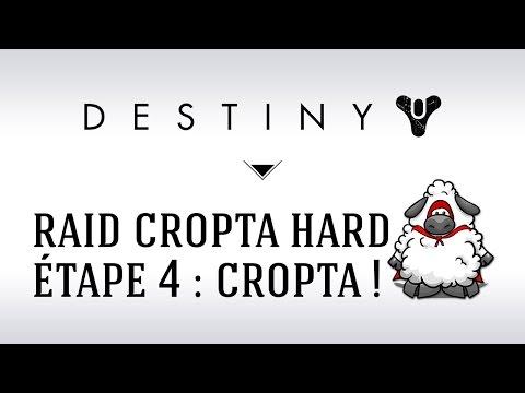 [FR] Destiny Raid Cropta Mode Difficile / Hard : étape 4 avec la team mouton
