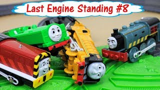 DEMOLITION DERBY THOMAS AND FRIENDS LAST ENGINE STANDING #8 Thomas TrackMaster Kids