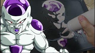 Pancake Art - Frieza (Dragon Ball Super)
