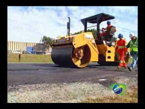 Pneus velhos viram asfalto ecológico para estradas