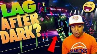 LAG AFTER DARK REACTION - NBA 2K17 Park After Dark Full Experience
