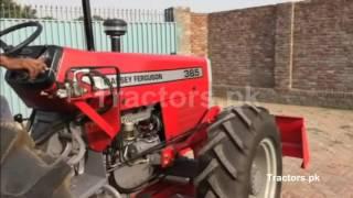 MF385 4wd front loader1
