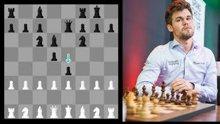 Stockfish 10 (1. a3, 2. b3 ... 8. h3)  vs Magnus 28 - Beautifully Intricate