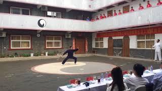 Chen Style Spear and Da Dao - Chen Bing Tai Ji Academy school demonstration