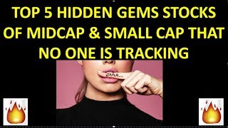 BREAKING NEWS : TOP 5 HIDDEN STOCK GEMS THAT NO ONE IS TRACKING