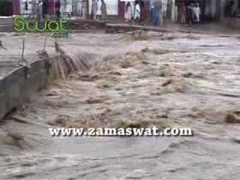 Distructive Flood In Swat Streams