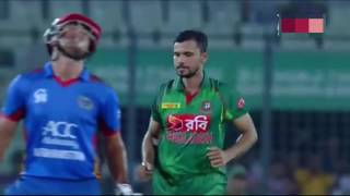 Bangladesh Wins Against Afghanistan | fall of wickets 1st ODI