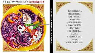 Bob Marley And The Wailers Confrontation 1983 Full Album Cover