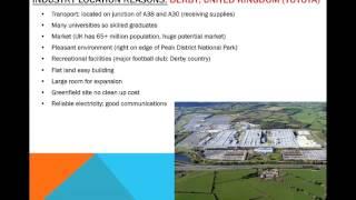 IGCSE Georgraphy: Industry Case Studies