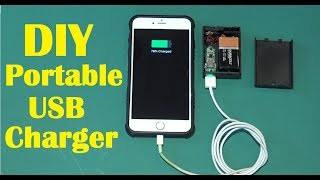 How to Make an Emergency Mobile Phone Charger / DIY Power Bank