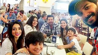 Dulquer Salmaan Celebrates Birthday With Family | Lehren Malayalam