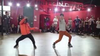 Sean Lew & Bailey Sok - Bun up the dance | Kyle Hanagami