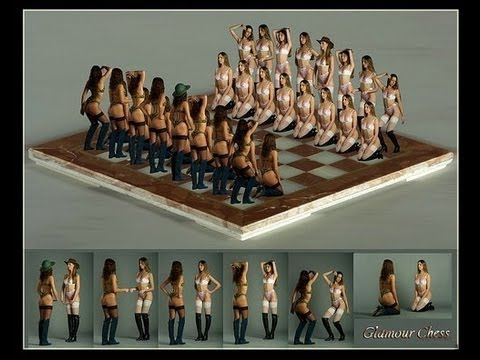 KOSTENIUK AND SEXIEST FEMALE CHESS PLAYERS