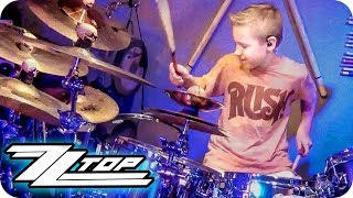 LA GRANGE - ZZ TOP (9 year old Drummer) Drum Cover by Avery Drummer Molek