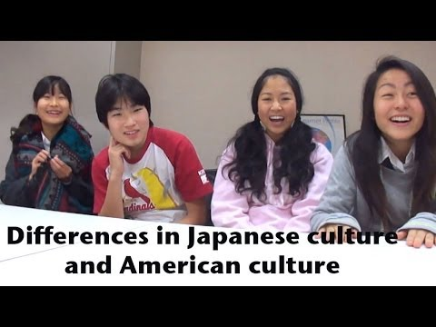 watch Differences In Japanese Culture and American Culture   International Baka
