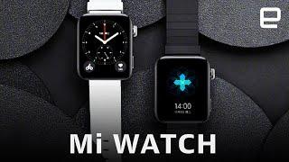 Xiaomi's first smartwatch is an Apple Watch lookalike