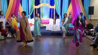 Mehndi Night Dance - An Indian Wedding Dance at A Mehndi Ceremony Toronto Wedding Videography GTA