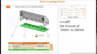 Spare Parts Catalog powered by Solidworks Composer