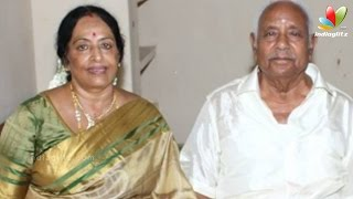 Veteran actress K.R. Vijaya's husband passes away | Hot Tamil Cinema News