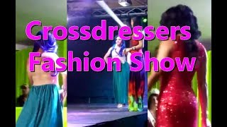 Crossdresser fashion show