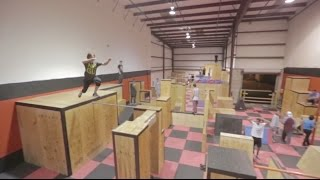 Urban Ninja Parkour Gym - Rilla Hops - Parkour | Freerunning